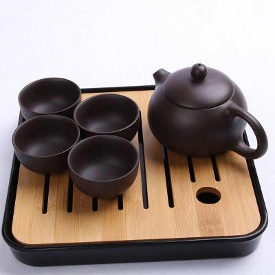 茶托盘根雕茶具套装特价竹茶盘陶瓷家用石茶具日式茶具盘电磁炉小
