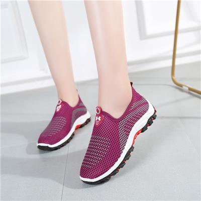 老北京布鞋女单鞋网面透气防滑运动休闲鞋软底跑步鞋中老年妈妈鞋