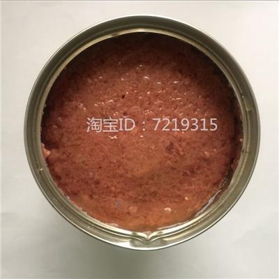 白皮狗零食泰迪狗粮湿粮犬主粮牛肉鸡肉蔬菜狗罐头375克6罐包邮鸡
