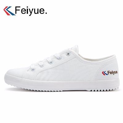 飞跃鞋帆布鞋运动经典款feiyue情侣小白小黑鞋学生男女休闲板鞋潮