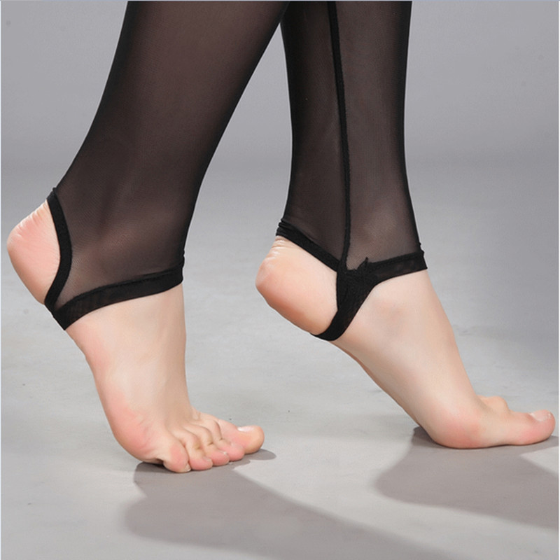 买一送一加肥加大薄款细网纱踩脚连裤袜单层防脱丝九分打底裤网袜